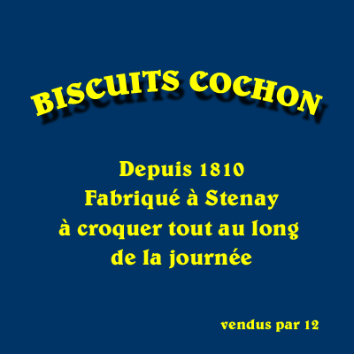 biscuits cochon